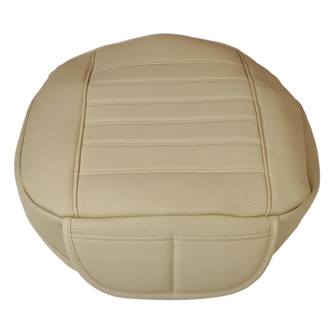 auto sitzbez ge pu leder sitzkissen atmungsaktiv sitzmatte. Black Bedroom Furniture Sets. Home Design Ideas