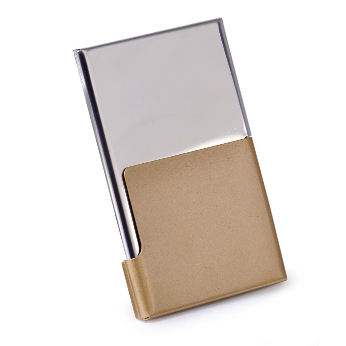 New Fashion Business Card Case Name ID Holder Pocket Box