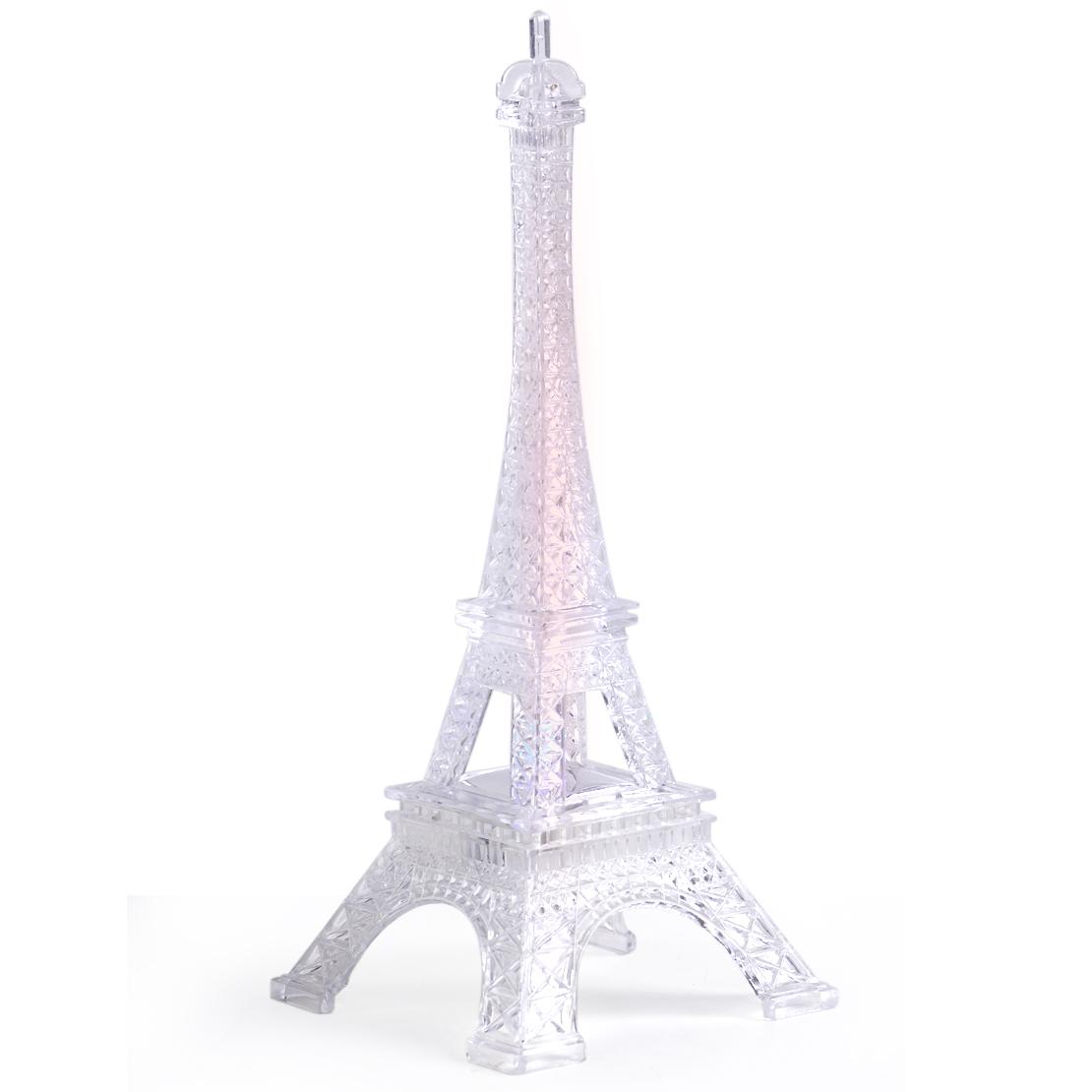 Eiffel Tower Romantic Night Light Desk Bedroom Table Led