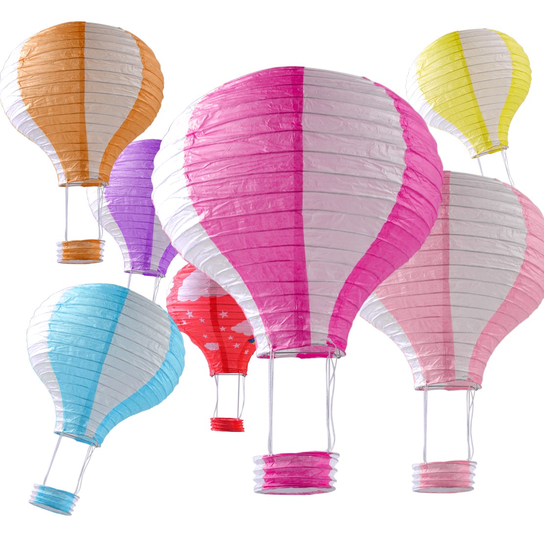 hei luftballon papierlaterne lampion party hochzeit hot air laterne balloon neu ebay. Black Bedroom Furniture Sets. Home Design Ideas