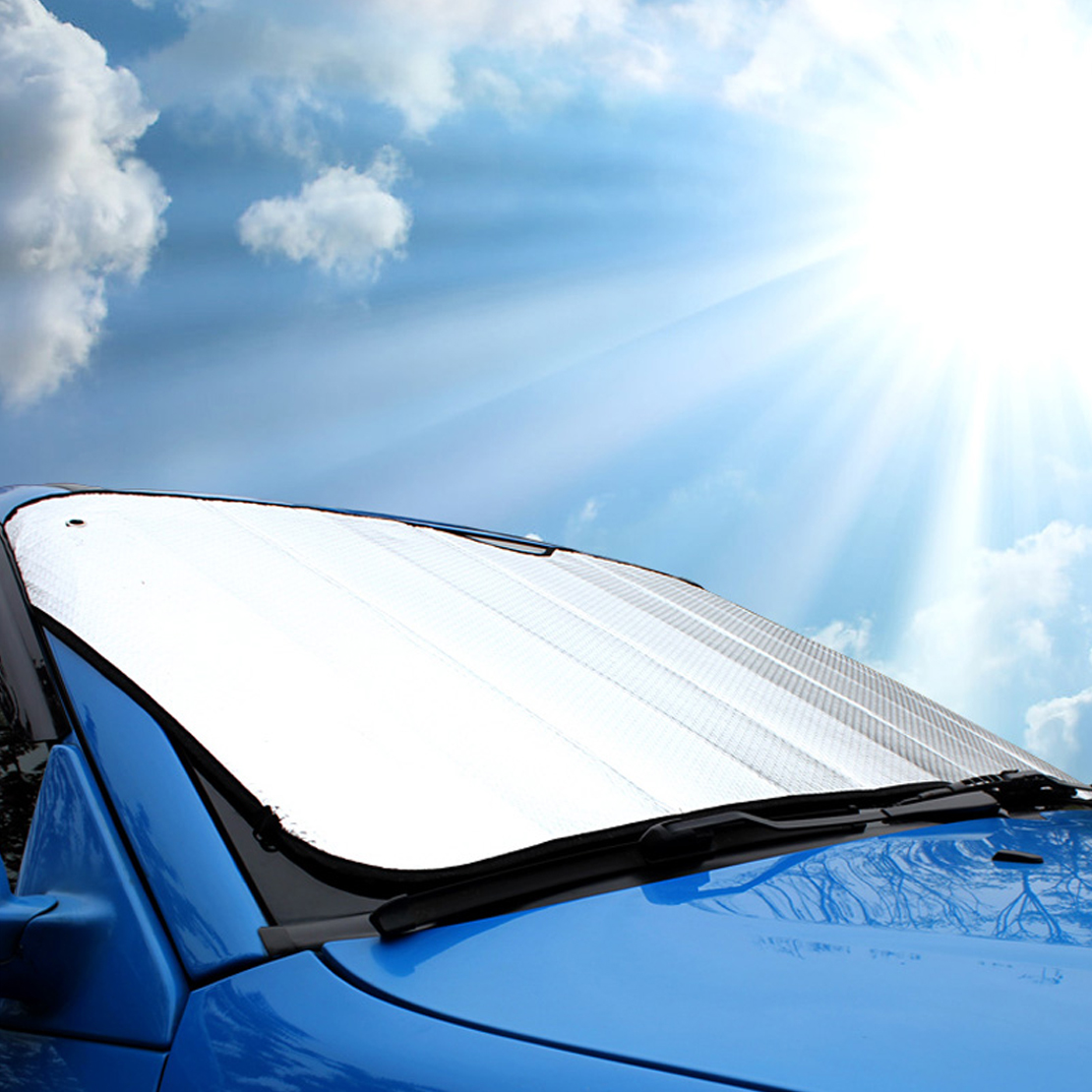 Jumbo Sun Shade Car Truck Van SUV Visor Windshield Dashboard