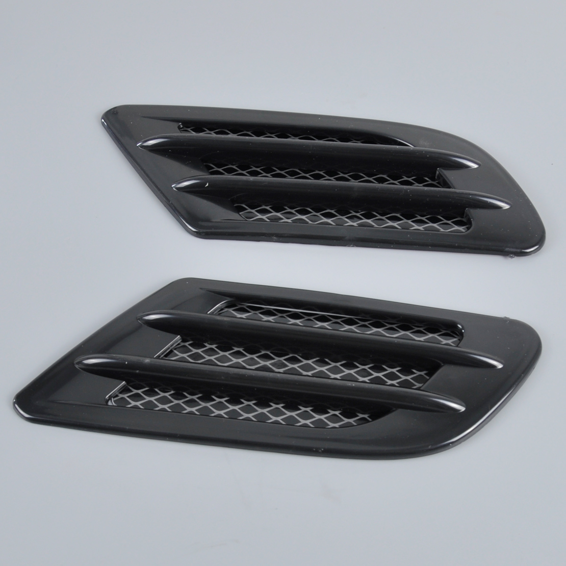 Car Air Ducts : Car side air vent fender cover intake duct flow grille