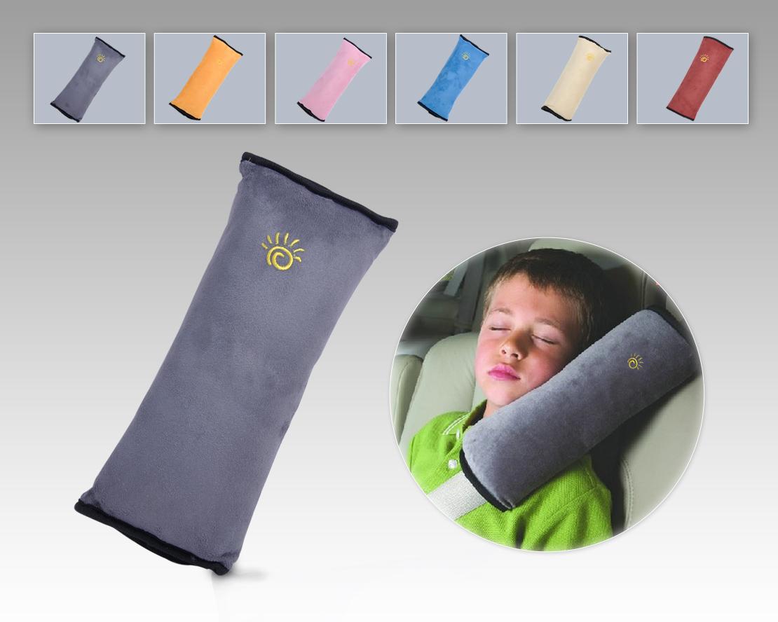 toddler children car seat belt cushion sleep pillow safety shoulder pad cover ebay. Black Bedroom Furniture Sets. Home Design Ideas