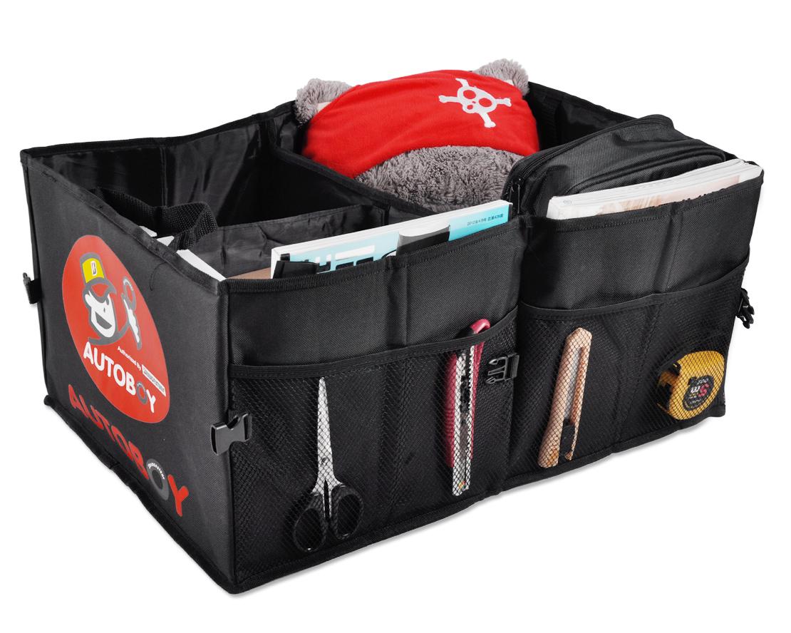 black car truck suv trunk cargo organizer foldable sundries bag box case storage ebay