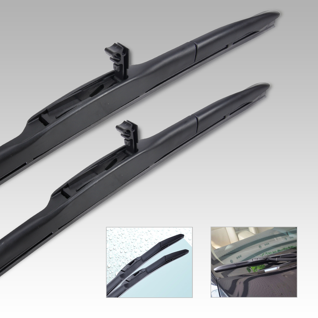 26 14 hybrid 3 section window windshield wiper blade for toyota corolla 200. Black Bedroom Furniture Sets. Home Design Ideas