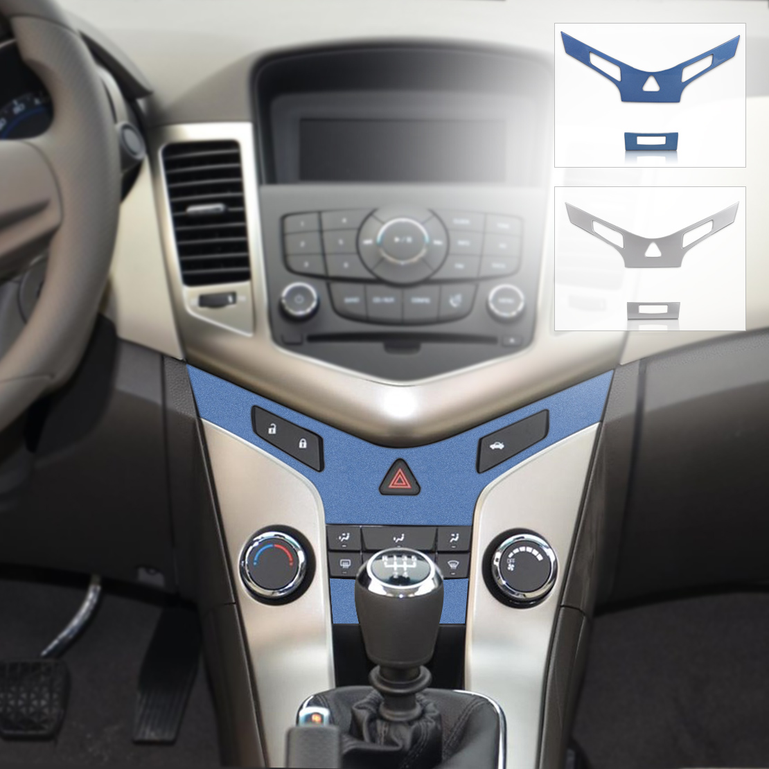 for chevrolet cruze car auto interior center console protective trim stickers ebay. Black Bedroom Furniture Sets. Home Design Ideas