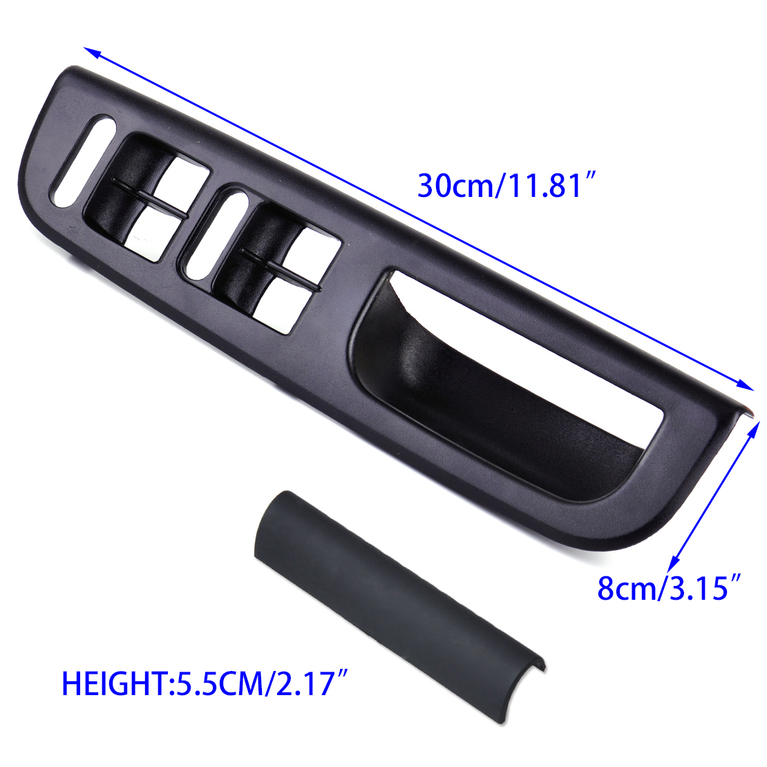 Black Door Window Switch Bezel Handle Trim Set For Vw Passat Golf Jetta Bora Mk4 Ebay