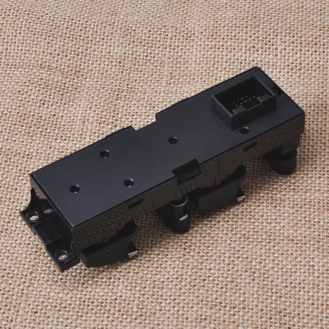 New chrome car master power window switch for vw bora for 2000 vw passat power window regulator