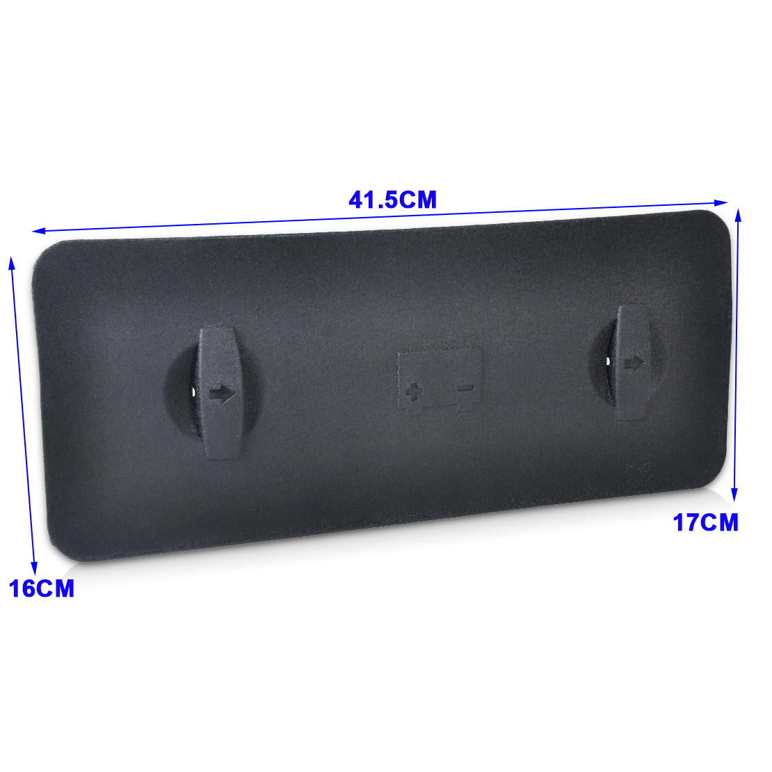 new black battery tray cover 8e1819422a01c for 2001 2008. Black Bedroom Furniture Sets. Home Design Ideas