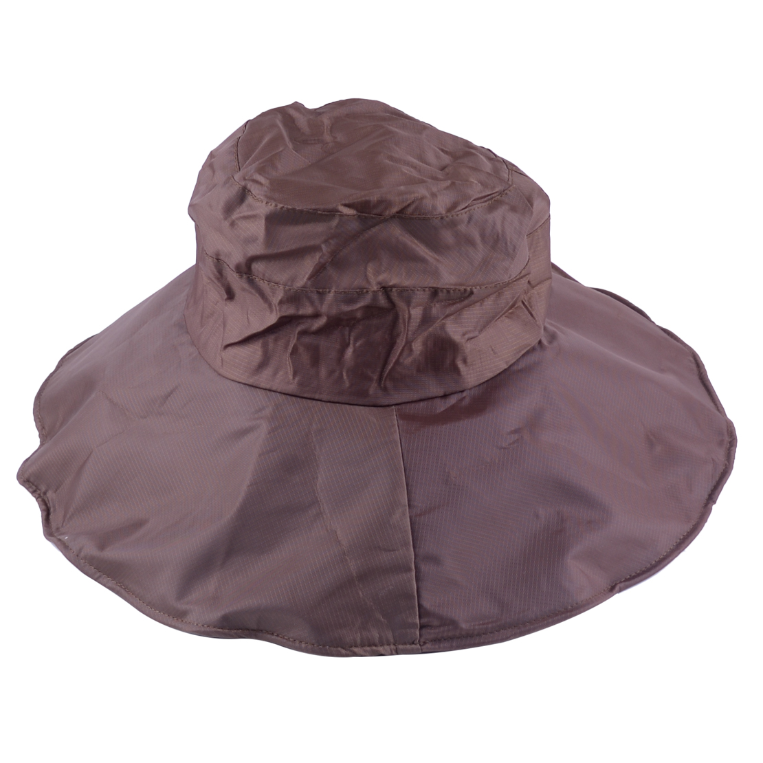 43f01ba9993c6 Women 60cm Rain Hats Waterproof Hat Wide Brim Bucket Hat Cap Sun SPF ...