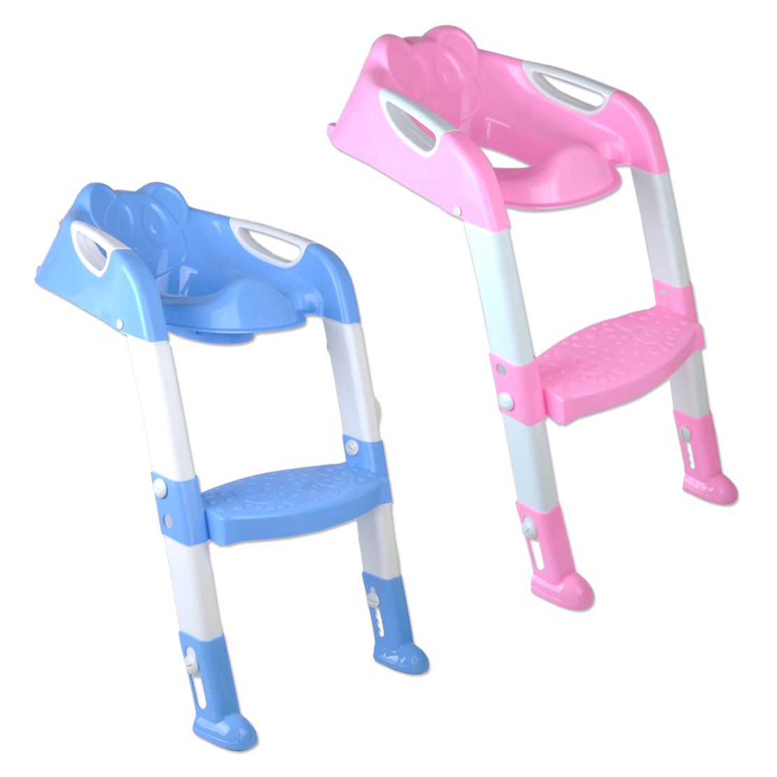 Kids Toilet Potty Trainer Seat Chair Toddler With Ladder