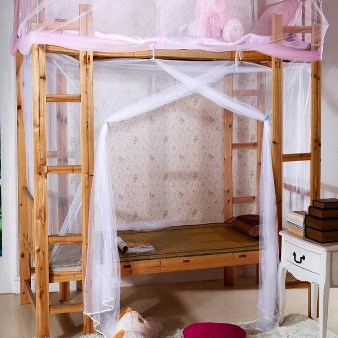 White four corner post bed canopy frame mosquito net twin for White four post bed
