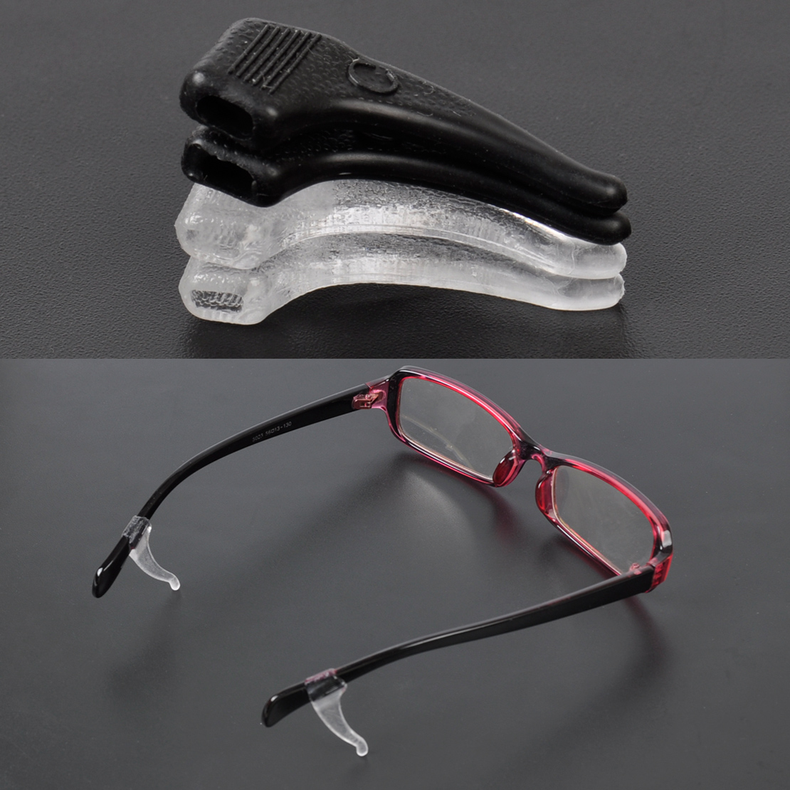 Eyeglass Frames Hurt Ear : Eyeglasses Glasses Anti Slip Grip Sunglasses Ear Hooks ...