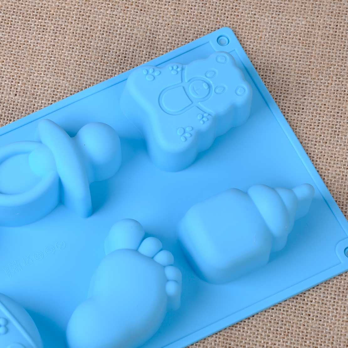 3D Baby Silicone Fondant Cake Decorating Mould Mold ...