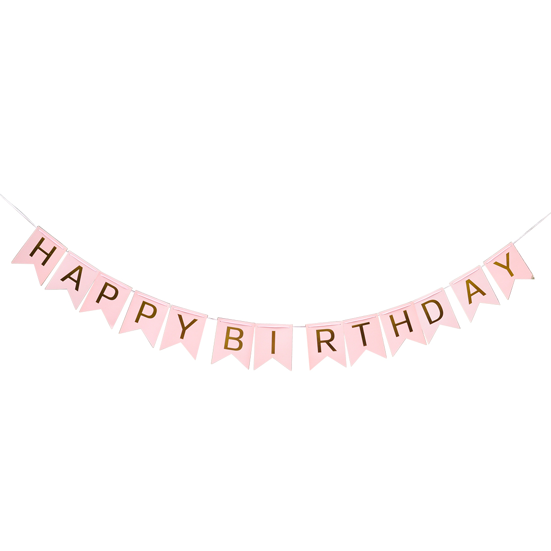 Glitter Paper Birthday Party Hanging Bunting Banner Flag: Glitter Happy Birthday Letters Bunting Banner Hanging