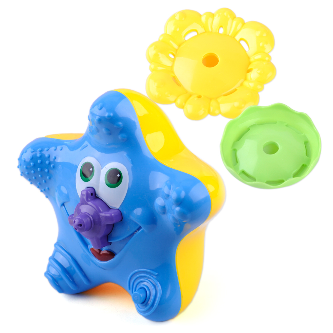 Kid Baby Water Spray Starfish Wash Swimming Bath Toys Cute Animal ...