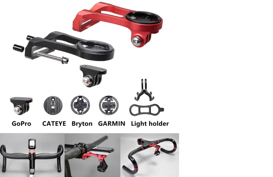 Rennrad GPS Computer Lenkerhalterung Fahrrad Vorbau Adapter Kompatibel mit Garmin Bryton