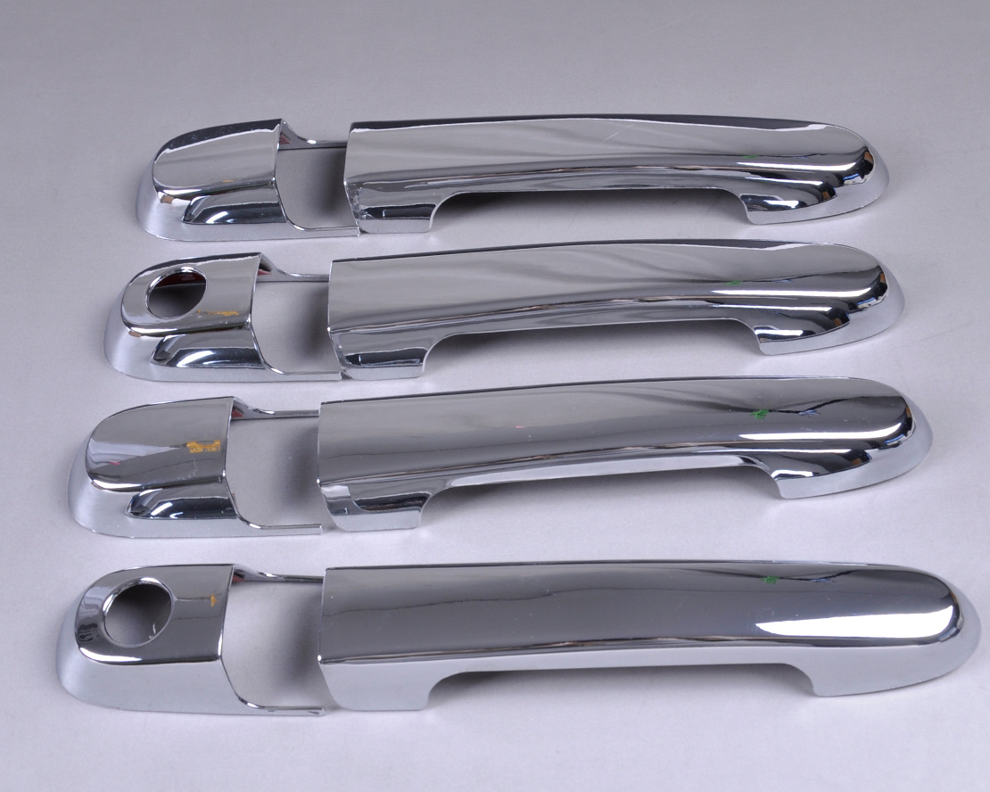 New chrome door handle cover trim for hyundai accent 2007 2008 2009 2010 2011 Hyundai accent exterior door handle