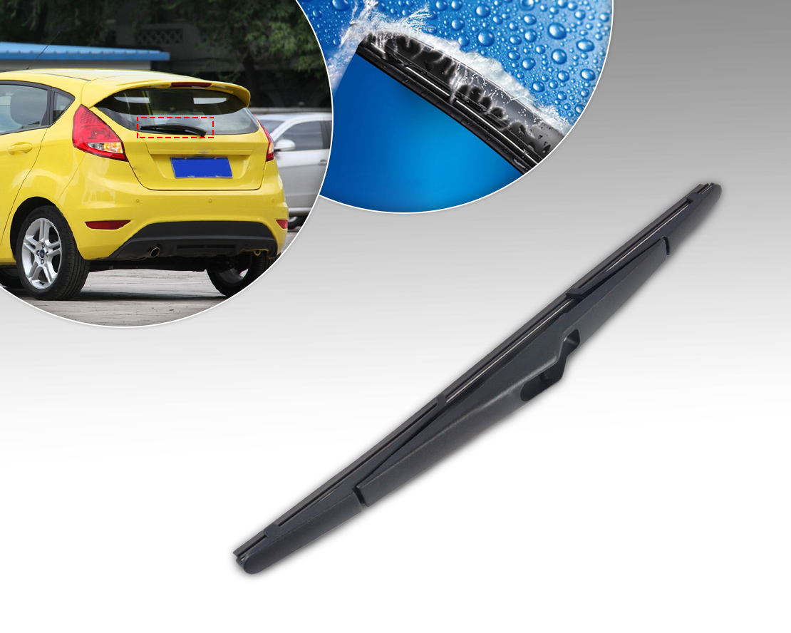 12 rear rain window windshield wiper blade fit ford fiesta 2008 focus 2012 ebay. Black Bedroom Furniture Sets. Home Design Ideas