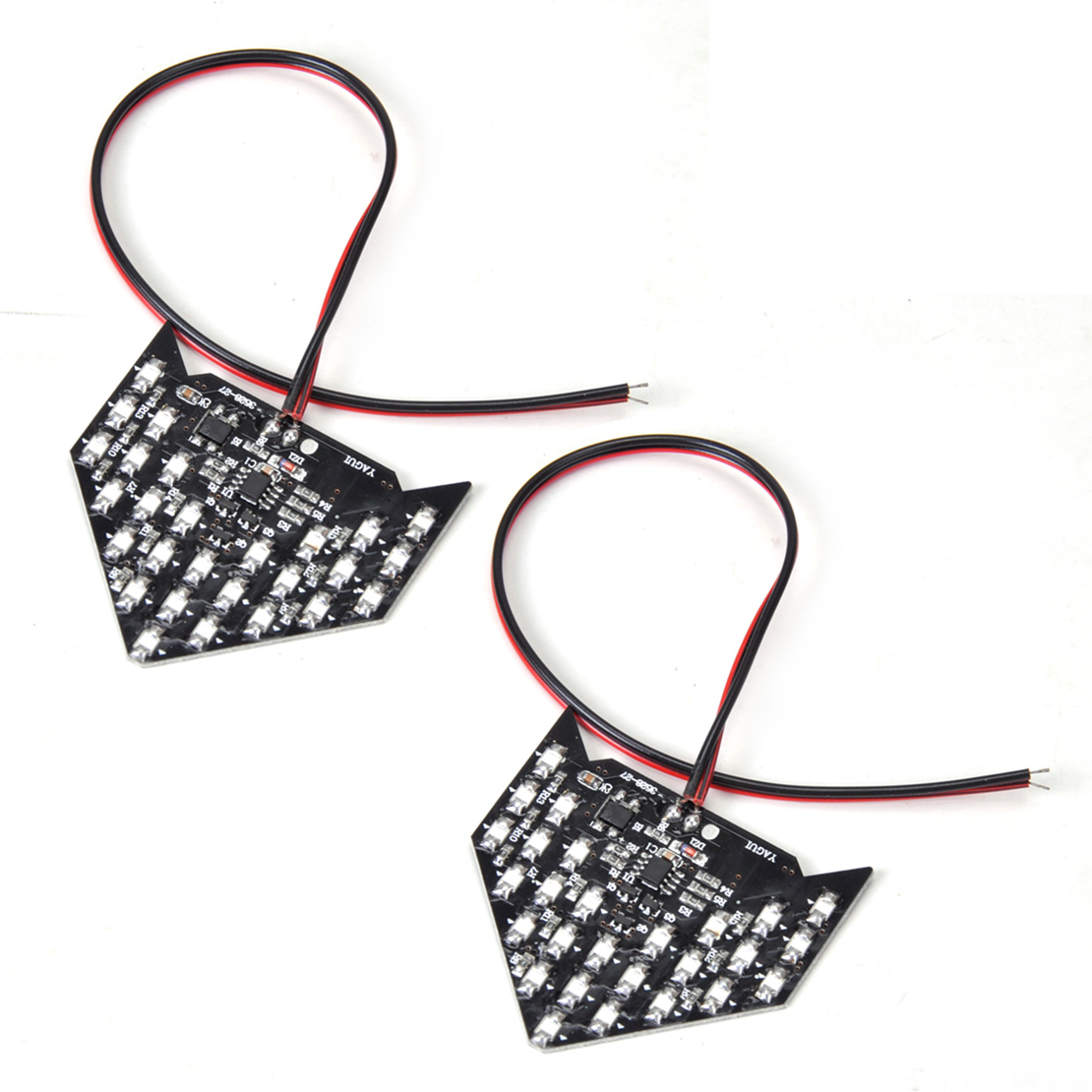 new 27 smd led sequential arrow panel rear view side