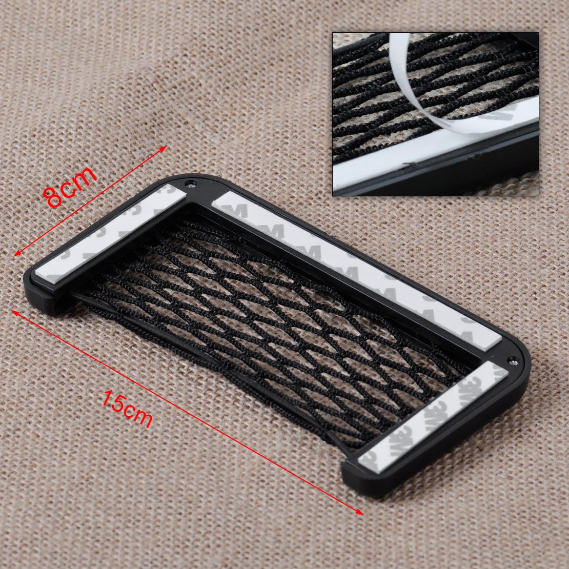 2x autositztasche autositznetz r cksitz netz mesh tasche. Black Bedroom Furniture Sets. Home Design Ideas
