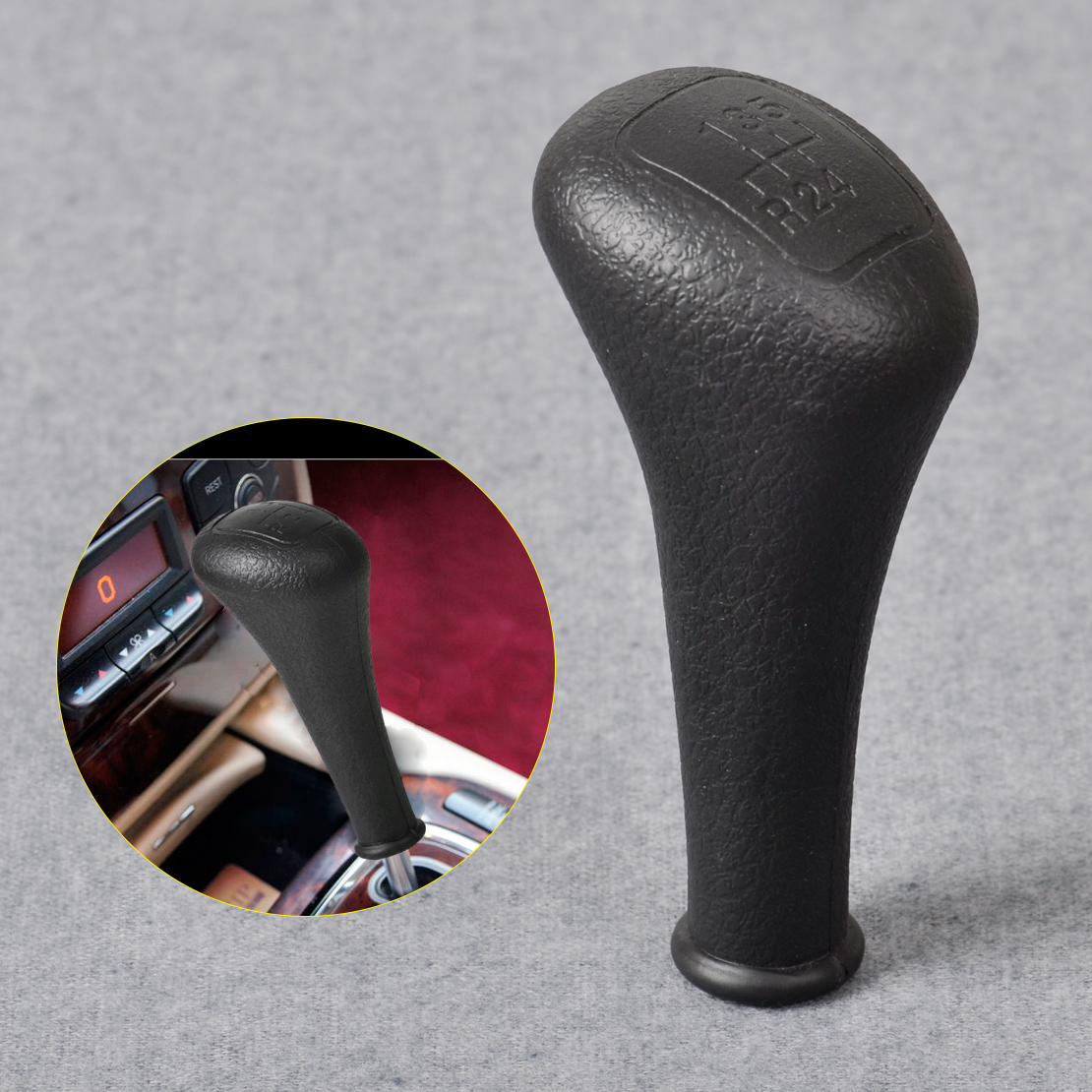 5 speed gear stick shift knob for mercedes benz w123 w124 for Mercedes benz stick shift