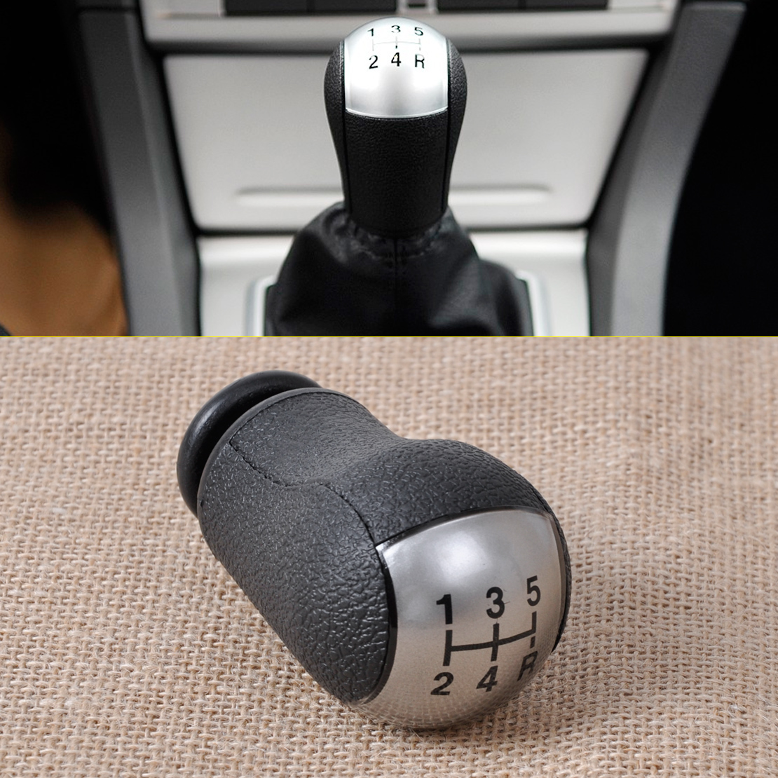 For 2001 2005 Lexus Is300 Manual Transmission Mt Aluminum: Silver 5-Speed Gear Stick Shift Lever Knob For Ford Focus