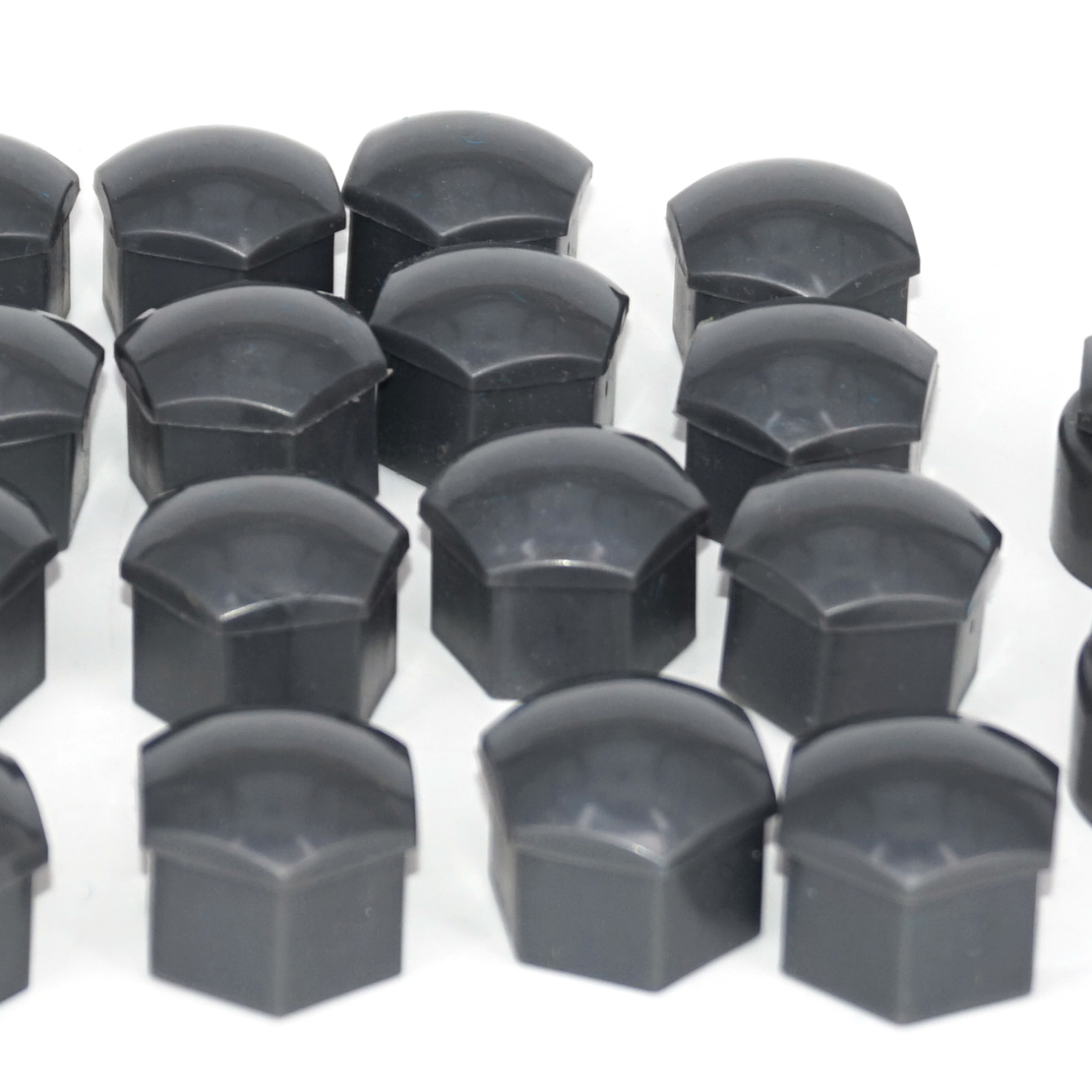 20pcs Wheel Lug Nut Center Cover 4ps Locking Types Caps