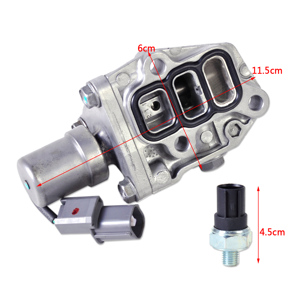 new vtec solenoid spool valve 15810 paa a02 fits for 4cyl honda accord odyssey. Black Bedroom Furniture Sets. Home Design Ideas