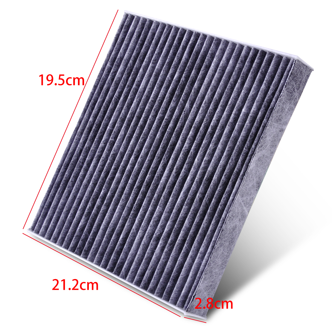 carbon fiber cabin air filter fits toyota camry corolla highlander 87139 50100. Black Bedroom Furniture Sets. Home Design Ideas