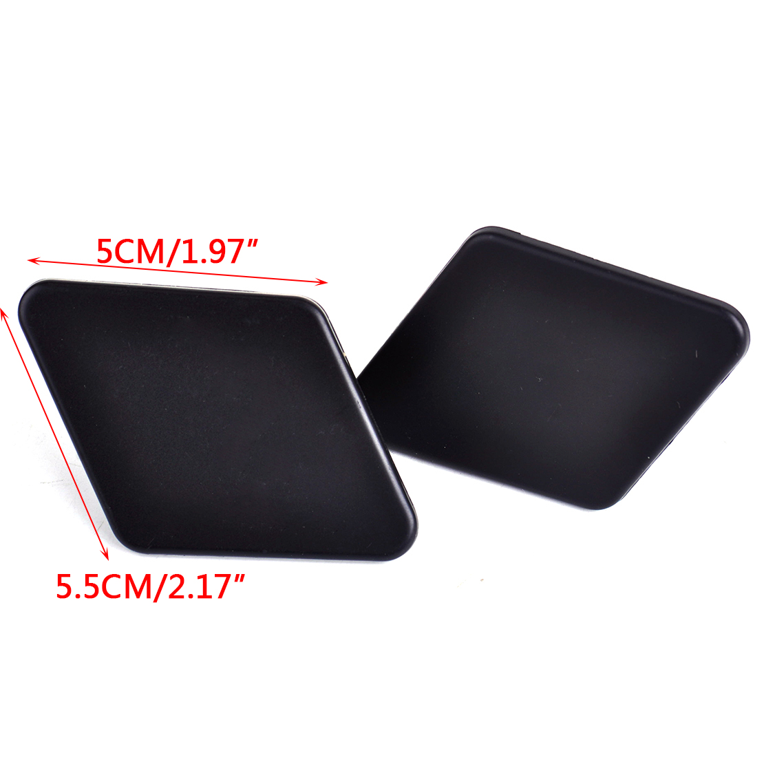 2pcs bumper headlight washer nozzle cover cap fit for bmw. Black Bedroom Furniture Sets. Home Design Ideas