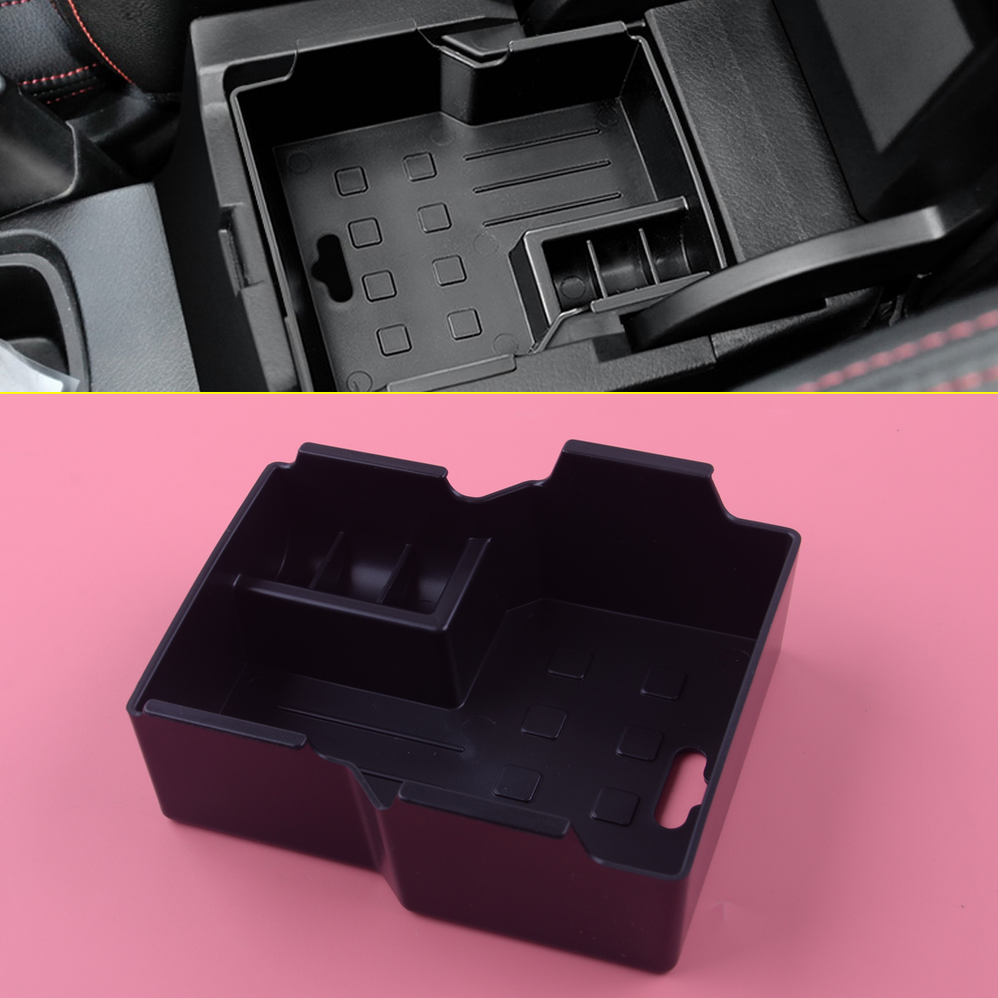Fit for Suzuki Vitara Escudo 16 Car Interior Armrest Organizer Storage Box Tray