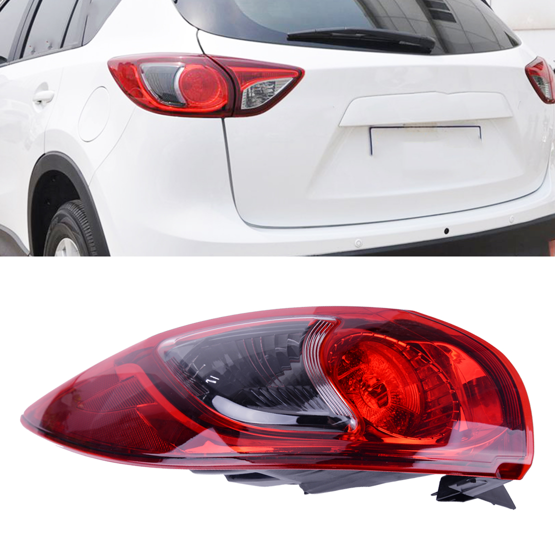 Mazda CX-5 Passenger/'s Side Tail Lamp 2013 2014 2015 2016 KD3351150C