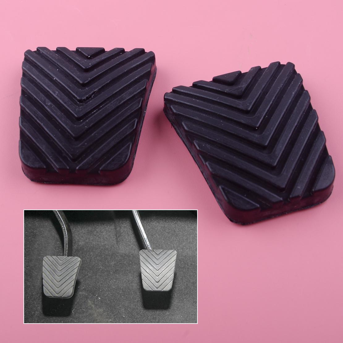 2pcs Clutch or Brake Rubber Pedal Pad 32825-36000 For Kia Forte Sportage Sorento