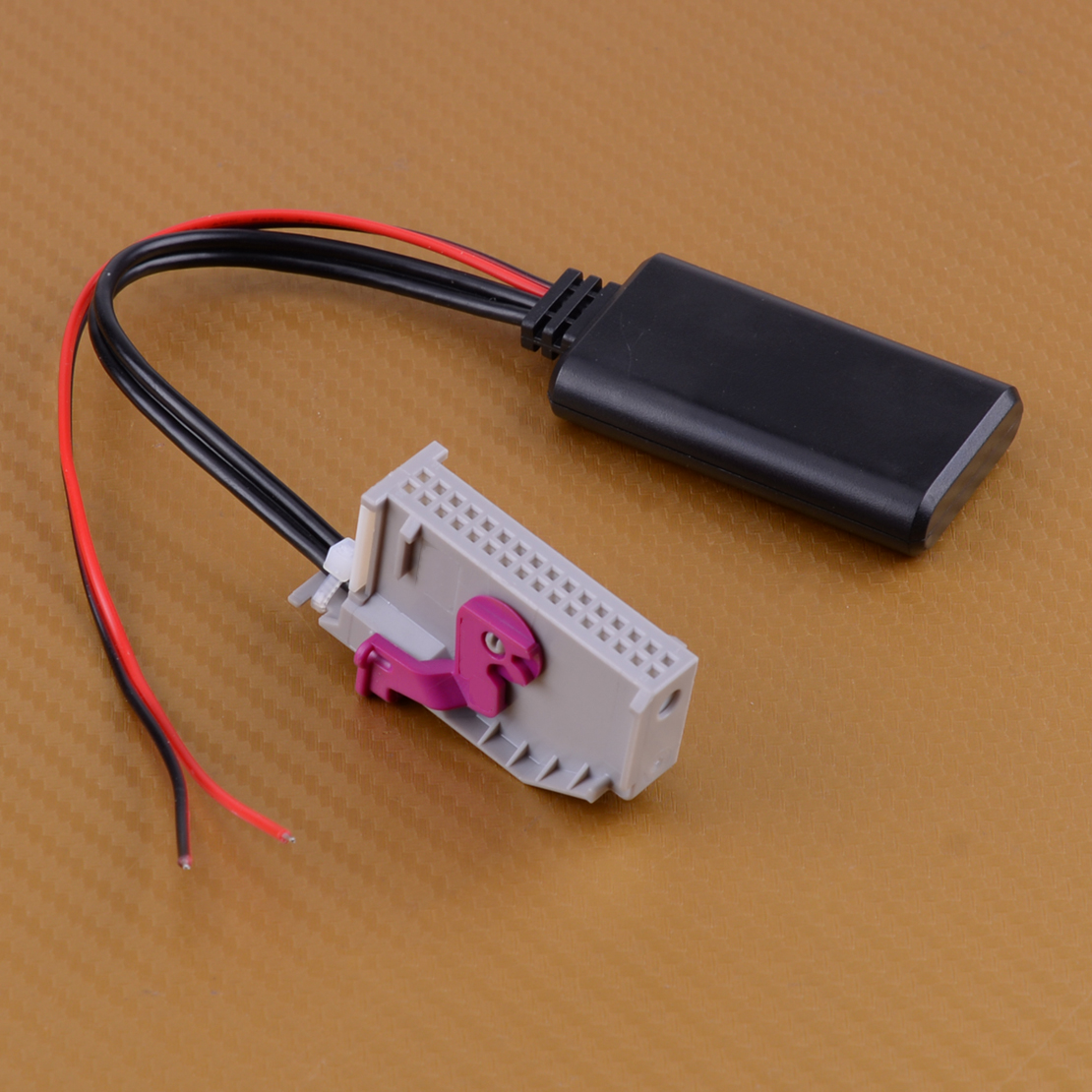 12V 32 Pin Plastic Bluetooth Adapter Aux Cable For A3 A4 A6 A8 TT R8 RNS-E