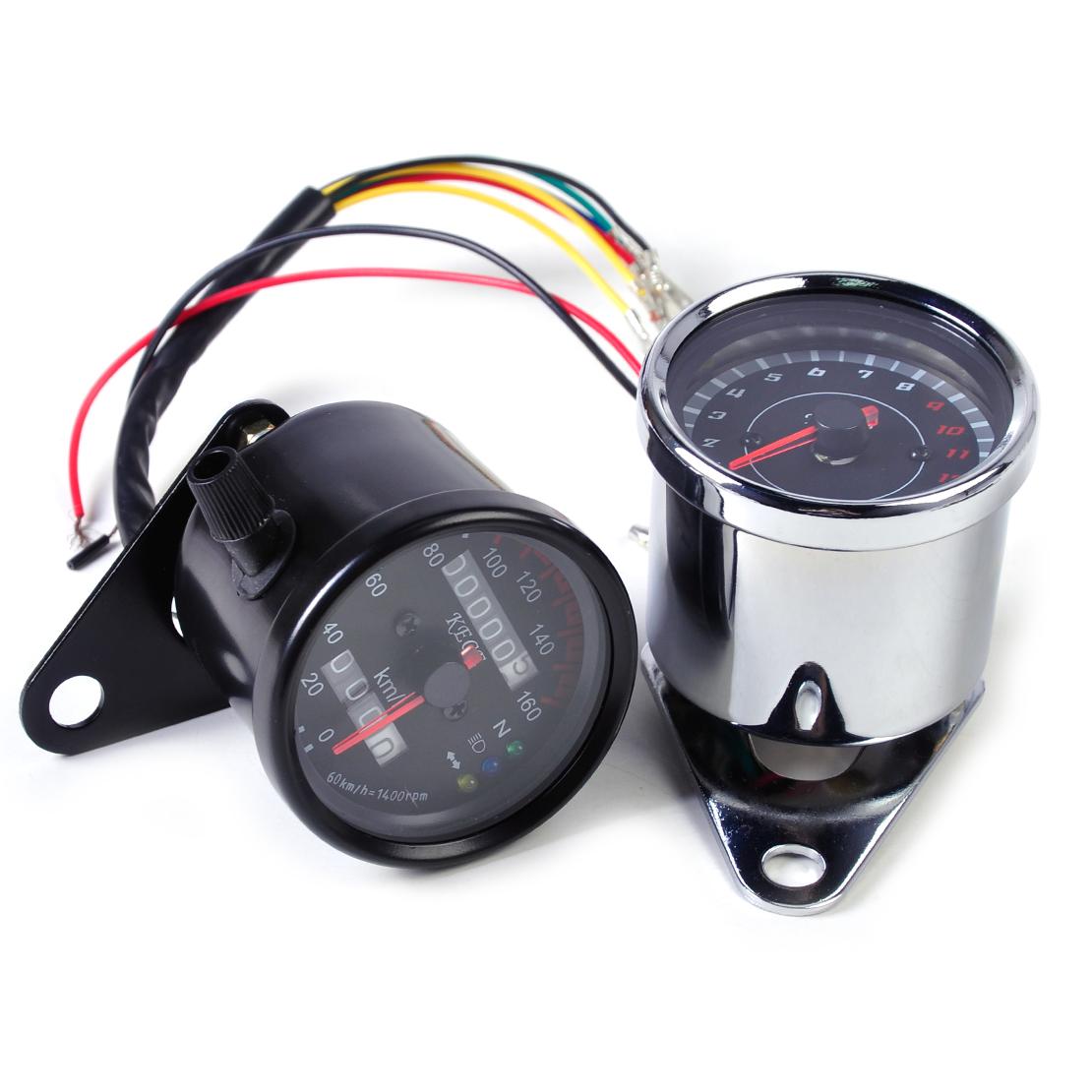 universal motorcycle tachometer motor led backlight. Black Bedroom Furniture Sets. Home Design Ideas