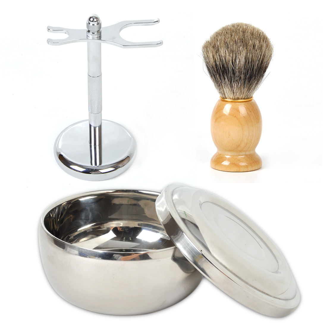 how to clean a used shaving brush