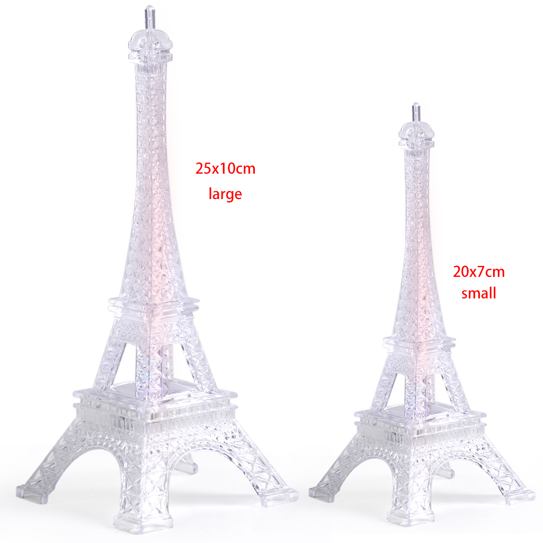 Details About Eiffel Tower Romantic Night Light Desk Bedroom Table LED