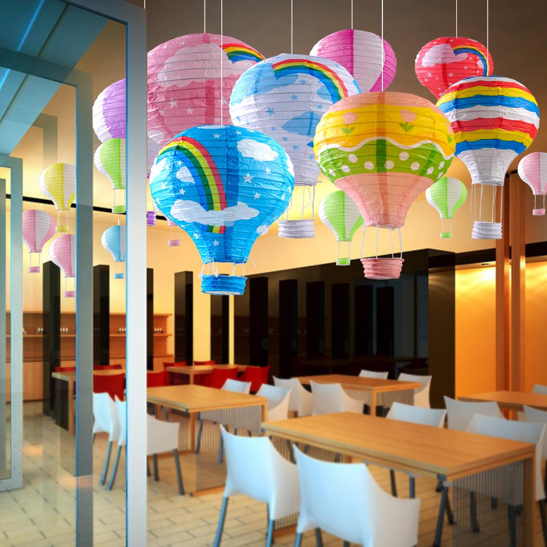 Heißluftballon Papierlaterne Lampion Party Hochzeit Hot ...