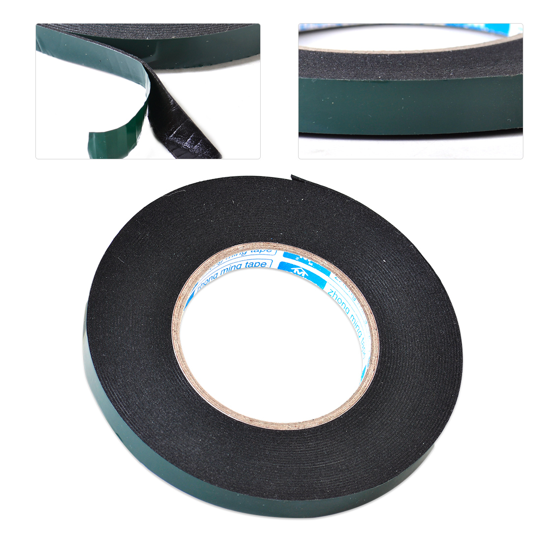 double sided adhesive foam car auto trim body roll sticky tape 5m x 12mm ebay. Black Bedroom Furniture Sets. Home Design Ideas