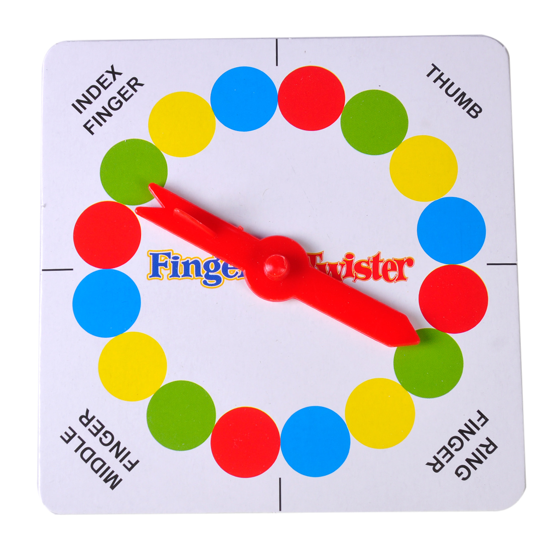 funny family finger twister board mini version table party. Black Bedroom Furniture Sets. Home Design Ideas