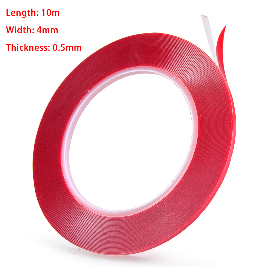 10M//30M Strong Double-sided Clear Transparent Acrylic Foam Adhesive Tape