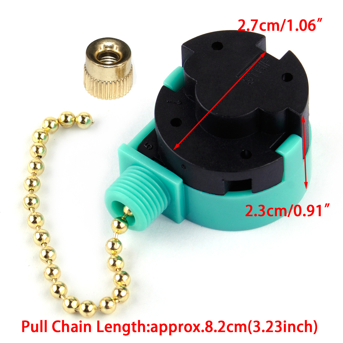 3 Speed Pull Chain Control Switch Replacement Fit For Zing Ear Ze 208s6 Wiring Diagram Ceiling Fan 4 Easy Installation